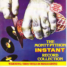 monty python the monty python instant record collection cd at