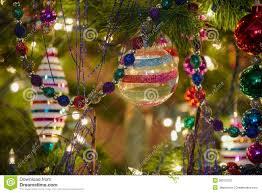 beautiful glass ornaments stock photo image 36210320