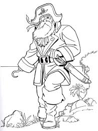 pirate coloring free printable coloring pages