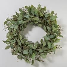 eucalyptus wreath eucalyptus wreath magnolia chip joanna gaines