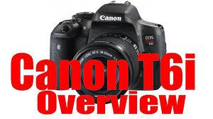 amazon black friday ad canon t6s canon rebel t6i u0026 750d overview training tutorial youtube