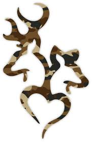 deer realtree camo buck and doe real tree sticker decal
