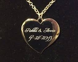 custom engraved necklace pendants engraved necklace etsy