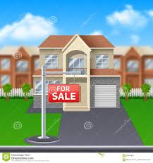 house for sale illustration stock vector image 58846840