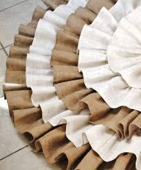 Christmas Tree Skirt Burlap Cream Christmas Tree Skirt Get Inspired With Home Design And