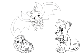 monster coloring pages monsters