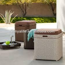 aliexpress com buy dyst d1007 wicker rattan storage box garden