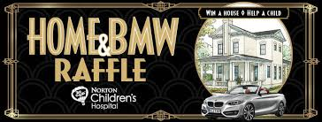 bmw hospital raffle tickets now available to win house car norton children s