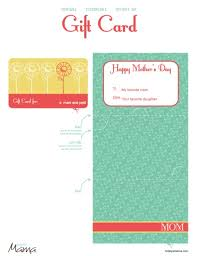 printable gift cards printable s day gift card template todaysmama