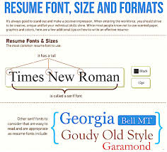 how to type a resume best font type in resume best fonts for resumes best font size