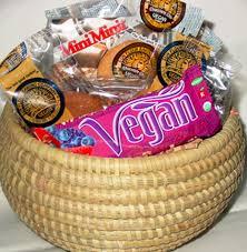vegan gift basket tea vegan cookies gift basket vegan fair trade organic gifts