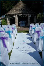 purple aisle runner wedding aisle runners 01204 419906 07758 944568
