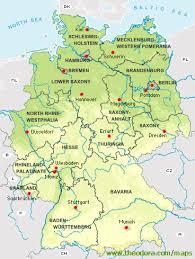 map germay germany s regions and property markets portfolio germany