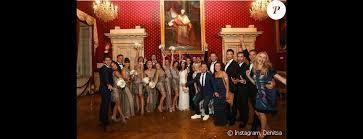 mariage alizee alizée et grégoire lyonnet accompagnés de leurs invités à leur