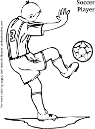 soccer player coloring pages to download and print for free