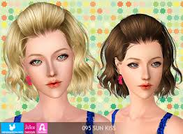 sims 3 hair custom content newsea sun kiss female hair by juice donation only custom