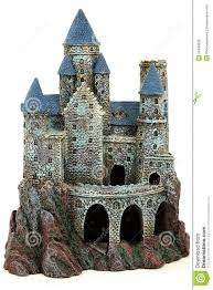 castle aquarium ornament royalty free stock photo image 24433635