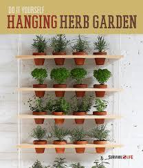 indoor herb garden ideas how to make an indoor vertical herb garden survival life
