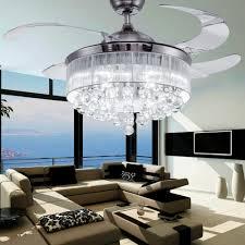 lighting elegant chandelier ceiling fan for interior lighting