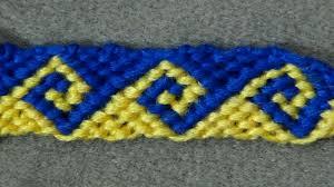 bracelet pattern tutorials images Friendship bracelet tutorial intermediate the greek wave jpg