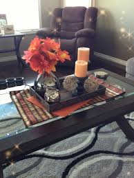 Ideas For Coffee Table Centerpieces Design Fall Decor For A Coffee Table Fall Decorating Pinterest