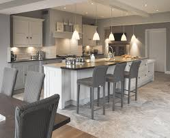 a bespoke shaker kitchen designed by cheshire furniture company