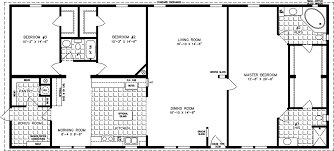 floor plans 2000 sq ft the tnr 4687w manufactured home floor plan jacobsen homes