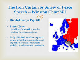 Winston Churchill And The Iron Curtain Chapter 26 The Cold War Ppt Download
