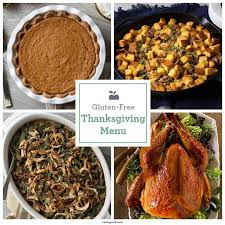 the best gluten free thanksgiving menu eatingwell