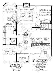 Barrington Floor Plan Barrington House Plan House Plans By Garrell Associates Inc