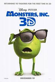 monsters returns theaters 3d disney movies