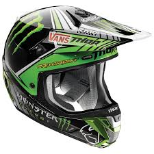 monster motocross helmets thor verge pro circuit monster energy helmet revzilla