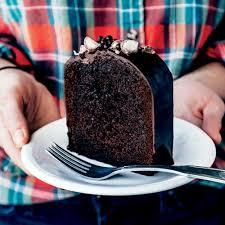malted chocolate cake recipe epicurious com