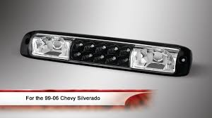 2005 gmc yukon xl third brake light 99 06 chevy silverado led 3rd brake light youtube
