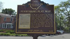 State Of Michigan Plat Maps by Perrysburg Plat Map Northing U0026 Easting