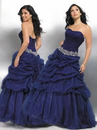 navy blue prom dresses and formal wear