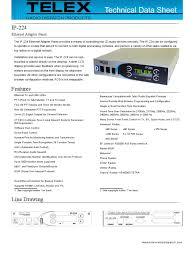 ip 224 technical datasheet electronic engineering electrical