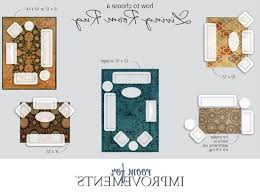 Correct Rug Size For Living Room Militariartcom - Dining room rug size