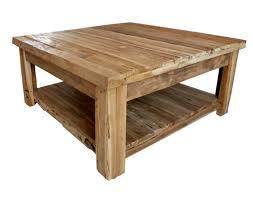 Wohnzimmerm El Holz Couchtisch Couchtische Holz Massiv Brauner Quadratischer
