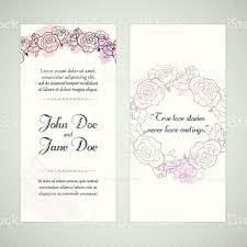 Single Invitation Cards Floral Invitation Cards Stock Vector Art 476759907 Istock