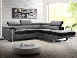 mobilier de canapé cuir canapé cuir gris design meubles de salon design avec canape