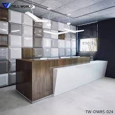 High End Reception Desks Hotel Reception Table Design High End Reception Desk High End
