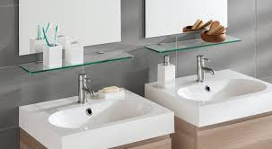 Floating Glass Shelves For Bathroom Glass Shelves Shop Home Office Store Regalraum