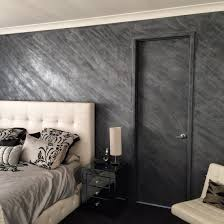 silver bespoke marmorino plaster wall feature walls by wonder
