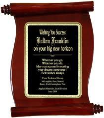 retirement plaque personalized rosewood retirement scroll plaque về hưu retirement
