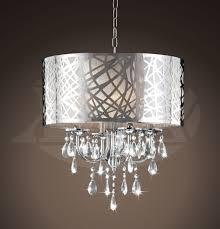 Crystal Chandelier Heidi Design 4 Light Chrome Crystal Chandelier 16