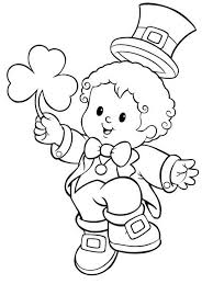 collection of solutions 2017 st patricks day coloring page for