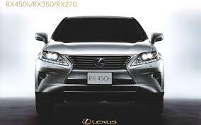 restyled 2013 lexus rx leaked online in brochure