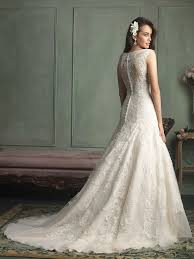 v neck illusion back lace wedding dresses on sale v neck illusion
