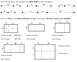 area model for multiplication worksheets free worksheets library